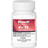 Droncit Tablets for Cats, 23-mg, 1 tablet
