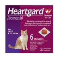 Heartgard Chewables for Cats, 5-15 lbs (Purple Box)