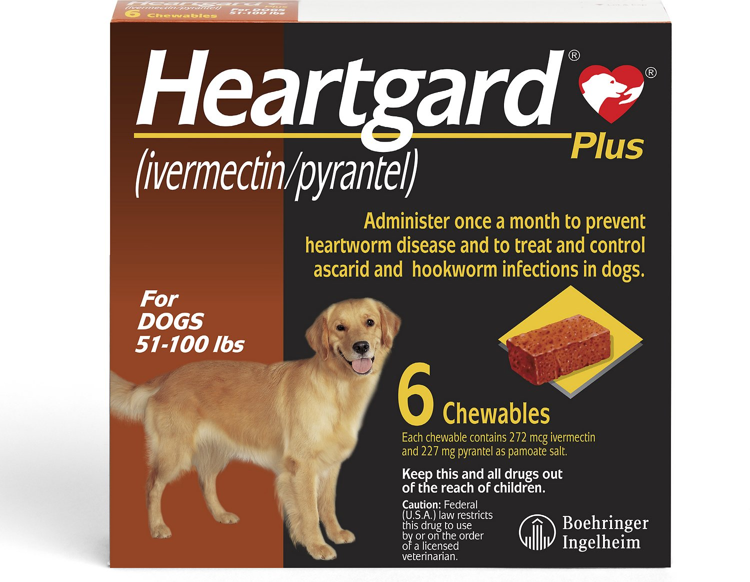 Heartgard Plus Chewables For Dogs 51