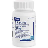 Rilexine (Cephalexin) Chewable Tablets for Dogs, 150-mg, 1 tablet