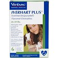 Iverhart Plus Chewable Tablet for Dogs, 26-50 lbs, (Green Box)