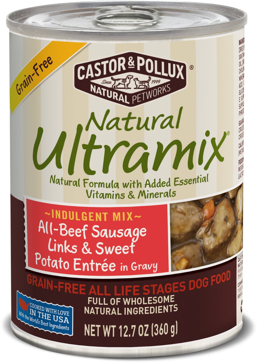 Castor And Pollux Natural Ultramix Canned