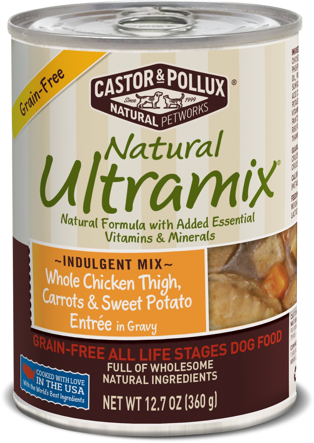Castor And Pollux Natural Ultramix Canned Dog Food