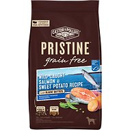 Castor & Pollux PRISTINE Grain-Free Wild-Caught Salmon & Sweet Potato Recipe with Raw Bites Dry Dog Food, 18-lb bag