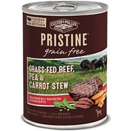 Castor & Pollux PRISTINE Grain-Free Grass-Fed Beef, Pea & Carrot Stew Canned Dog Food, 12.7 oz, case of 12