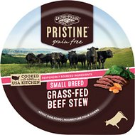 Castor & Pollux PRISTINE Grain-Free Small Breed Grass-Fed Beef Stew Canned Dog Food, 3.5-oz, case of 12
