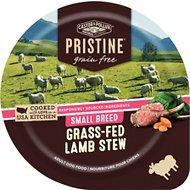 Castor & Pollux PRISTINE Grain-Free Small Breed Grass-Fed Lamb Stew Canned Dog Food, 3.5-oz, case of 12