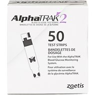 AlphaTRAK 2 Blood Glucose Test Strips for Dogs & Cats, 50 count