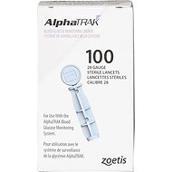 AlphaTRAK 28 Gauge Sterile Lancets for Dogs & Cats, 100 count