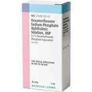 Dexamethasone (Generic) Ophthalmic Solution, 5-mL