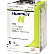 Humulin N Insulin U-100, 10-mL