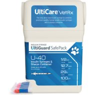 UltiCare UltiGuard Safe Pack Insulin Syringes U-40 29 Gauge x 0.5-in, 0.5-cc, 100 count
