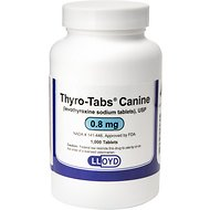 Levothyroxine Sodium Tablets (Thyro-Tabs), 0.8-mg, 1 tablet