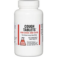 Creative Science Cough Tablets for Dogs & Cats, 1 tablet