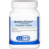 Methio-Form Chewable Tablets for Dogs & Cats, 500-mg, 1 tablet