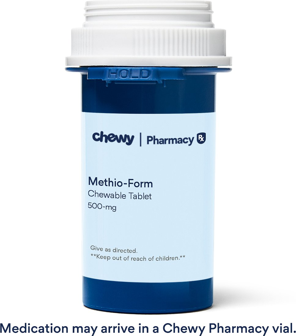 Methio Form Chewable Tablets For Dogs Amp Cats 500 Mg 1