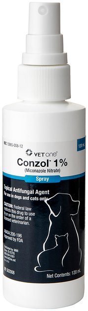Miconazole Nitrate Generic Spray 1 For Dogs Amp Cats 120