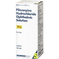 Pilocarpine (Generic) Ophthalmic Solution 1%, 15-mL