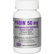 Proin Chewable Tablets for Dogs, 50-mg, 1 tablet