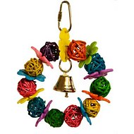 Super Bird Creations Daisy Ring Bird Toy, Small