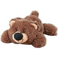 Frisco Plush Squeaking Bear Dog Toy, Small