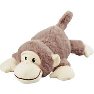 Frisco Plush Squeaking Monkey Dog Toy, Small
