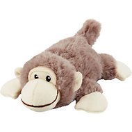 Frisco Plush Squeaking Monkey Dog Toy, Medium