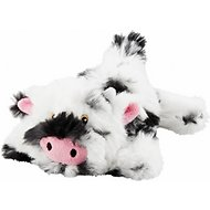 Frisco Plush Squeaking Cow Dog Toy, Small