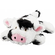 Frisco Plush Squeaking  Cow Dog Toy, Medium