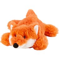 Frisco Plush Squeaking Fox Dog Toy, Small