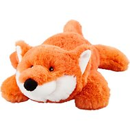 Frisco Plush Squeaking Fox Dog Toy, Medium