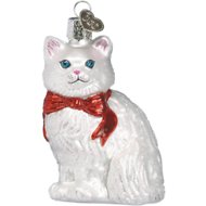 Old World Christmas Princess Kitty Glass Tree Ornament, 3.25-in