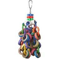 Super Bird Creations Bagel Cascade Bird Toy, Large