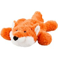 Frisco Plush with Inside Rope Squeaking Fox Dog Toy