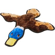 Frisco Flat Plush Squeaking Duck Dog Toy, Medium