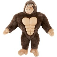 Frisco Plush Squeaking Gorilla Dog Toy, Large