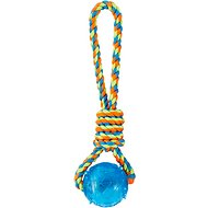 Frisco Rope with Squeaking Ball Dog Toy