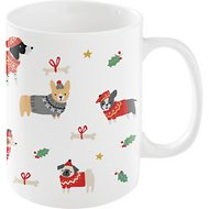 Fringe Studio Holiday Sweater Dog Coffee Mug, 12 oz