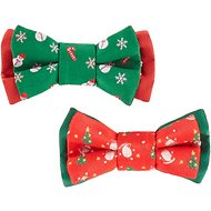 Blueberry Pet Christmas Stay Festive Bowtie Gift Box, 3-in