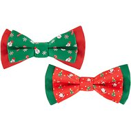 Blueberry Pet Christmas Stay Festive Bowtie Gift Box, 4-in
