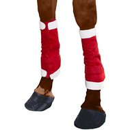 Tough-1  Santa Horse Leg Wraps 4 Piece Set