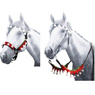 Tough-1 Elf Horse Halter & Rein 5 Piece Set