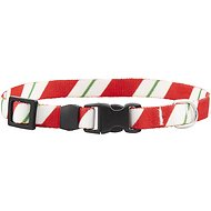 Yellow Dog Design Peppermint Sticks Dog Collar, X-Small