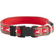 Yellow Dog Design Reindeer Light-Up Dog Collar, Medium