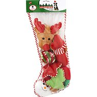 Ethical Pet Holiday Dog Toy Stocking, 8 count