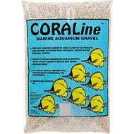CaribSea CoraLine Florida Crushed Coral Marine Gravel, 15-lb bag