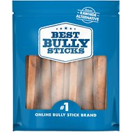 "Best Bully Sticks Jumbo Odor Free 6"" Bully Sticks Dog Treats, 20 count"