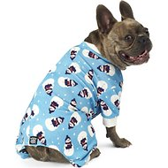 PetRageous Designs Blue Snowman Dog Pajamas, Medium
