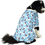 PetRageous Designs Blue Snowman Dog Pajamas, X-Large