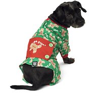 PetRageous Designs Oh Snap! Gingerbread Dog Pajamas, Small